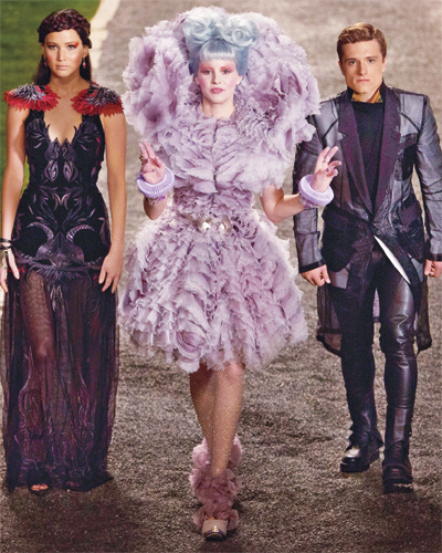 Purple Reign Hunger Games Fashion Effie 39 S Most Outrageous Looks