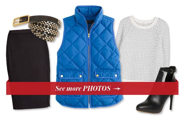 4 Ways to Wear a Puffer Vest