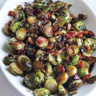 Brussel Sprout Recipes With Bacon Roasted Balsamic Vinegar