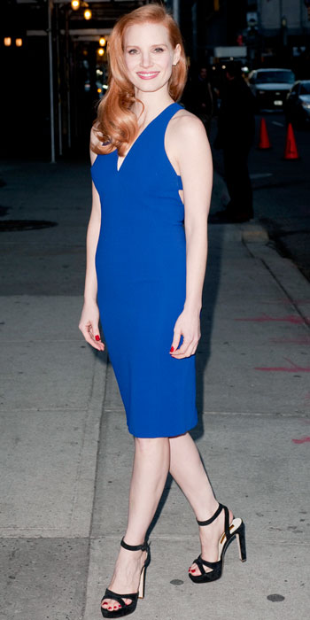 Look of the Day photo | Jessica Chastain