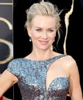 Naomi Watts in an Armani Privé gown