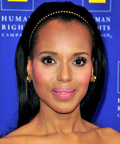 Kerry Washington - Delicate Headband - Celebrity Beauty Tip