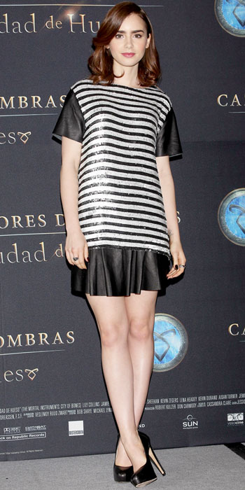 Look of the Day photo   Lily Collins