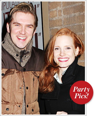 Dan Stevens Jessica Chastain