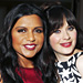 Mindy and Zooey's Fun FOX Night, Plus More Parties!