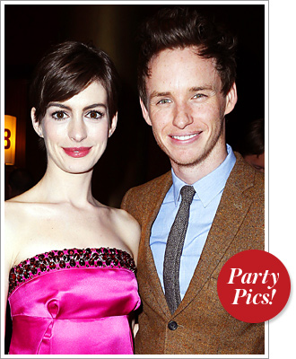 Anne Hathaway Eddie REdmayne