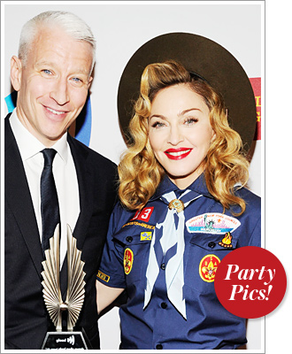 Anderson Cooper, Madonna