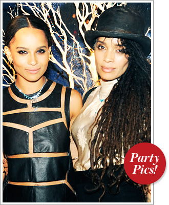 Zoe Kravitz, Lisa Bonet