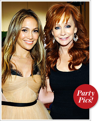 Jennifer Lopez and Reba McEntire