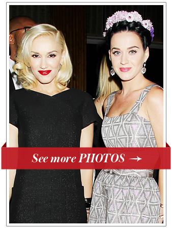 Gwen Stefani and Katy Perry