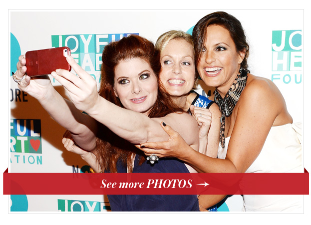 Debra Messing, Alexandra Wentworth, Mariska Hartigay