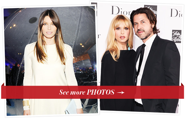 Jessica Biel, Rachel Zoe and Rodger Berman