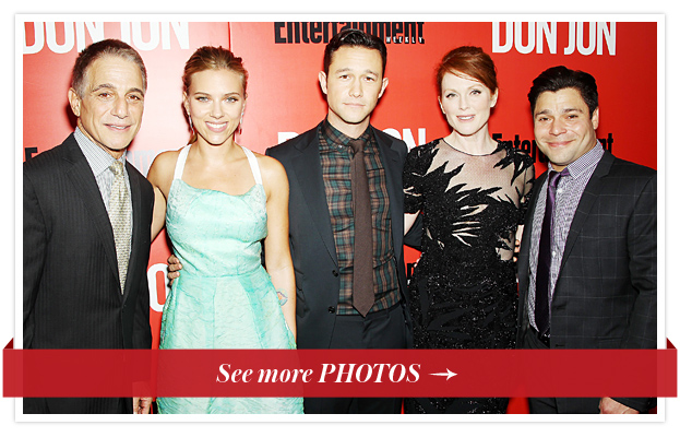 Tony Danza, Scarlett Johansson, Joseph Gordon-Levitt, Julianne Moore and Jeremy Luke