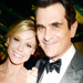 Modern Family's Julie Bowen and Ty Burrell, the Deschanel Sisters and the Breaking Bad Cast Celebrate the 2013 Emmy Awards