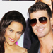 Paula Patton and Robin Thicke Make a Date Night Out of the Baggage Claim Movie Premiere