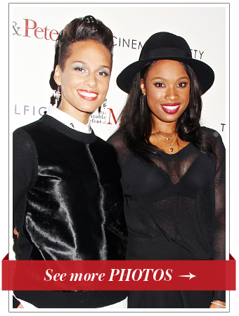 Alicia Keys and Jennifer Hudson