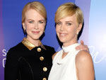 Nicole Kidman and Charlize Theron