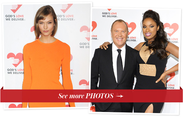 Karlie Kloss, Michael Kors and Jennifer Hudson