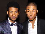 Usher and Pharrell Williams
