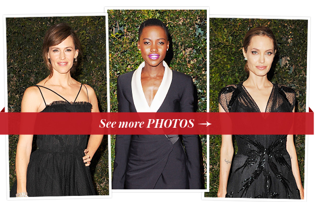 Jennifer Garner, Lupita Nyong'o and Angelina Jolie