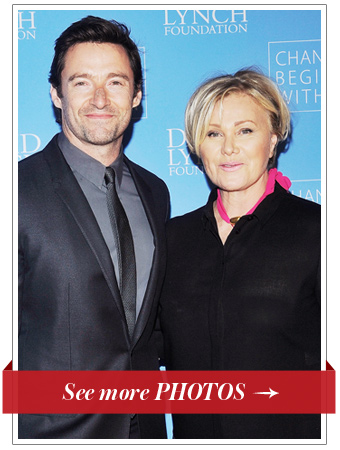 Hugh Jackman and Deborra-Lee Jackman