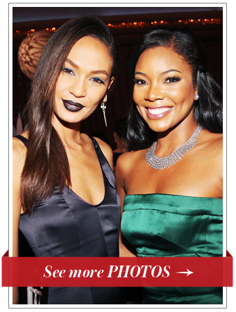 Joan Smalls and Gabrielle Union