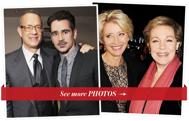 Tom Hanks, Colin Farrell, Emma Thompson and Julie Andrews