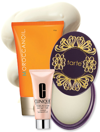 Winter Skincare - Tarte - Moroccanoil - Clinique