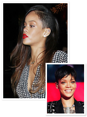 Rihanna Hair - New Hair 2013