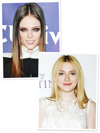 Dakota Fanning - Coco Rocha - Hair