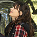 Found It via Possessionista! Zooey Deschanel's Plaid Coat on New Girl