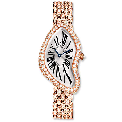 Cartier - crash watch - we're obsessed
