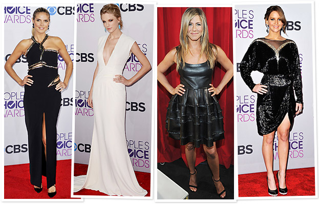 Heidi Klum, Taylor Swift, Jennifer Aniston, Jennifer Lawrence