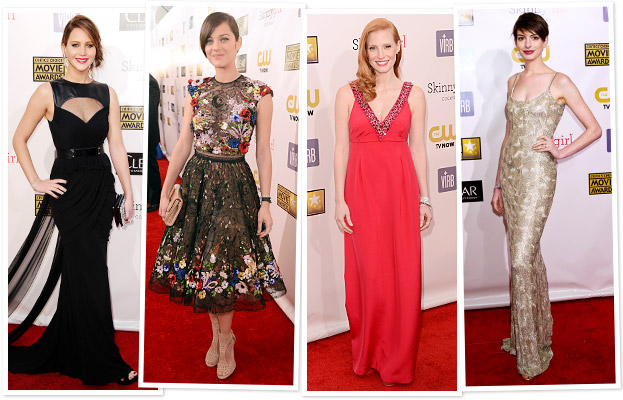 Jennifer Lawrence, Marion Cotillard, Jessica Chastain, Anne Hathaway