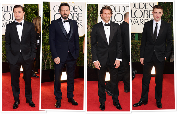 Leonardo DiCpario, Ben Affleck, Bradley Cooper, Robert Pattinson