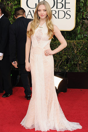 Amanda Seyfried Golden Globes