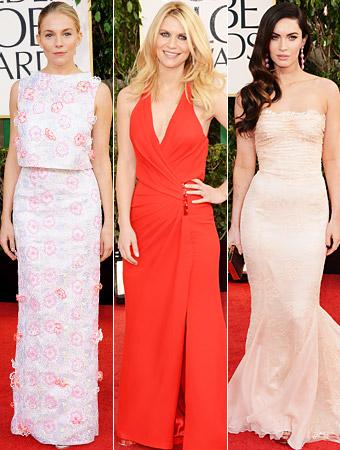 Sienna Miller, Claire Danes, Megan Fox