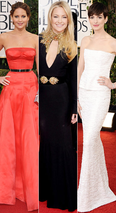 Jennifer Lawrence, Kate Hudson, Anne Hathaway