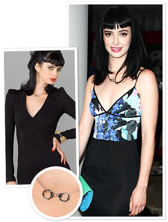 Krysten Ritter Necklace