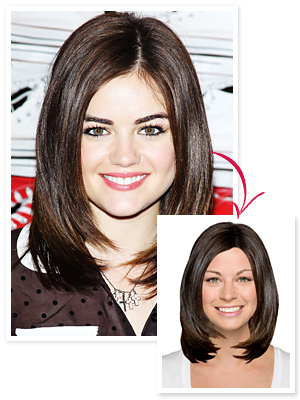 Lucy Hale Hair