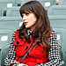New Girl Fashion: Zooey Deschanel's Red Vest Used to Be a Coat