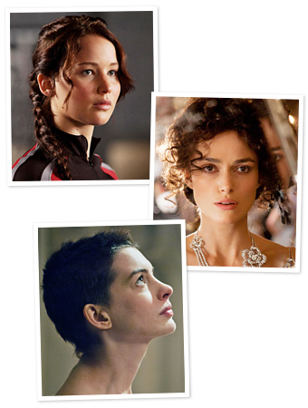 InStyle Poll Movie Hairstyles 2012