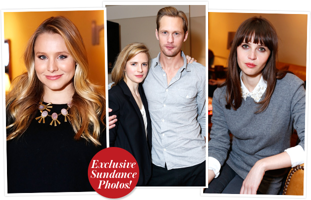 Kristen Bell Alexander Skarsgard and Felicity Jones