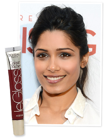 Freida Pinto Lip color