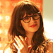 Found It via Possessionista! Zooey Deschanel's Doll Print Dress on New Girl