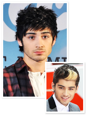 One Direction - Zayn Malik - Hair