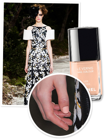 Chanel Couture Show - Chanel Nail Polish
