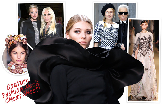 Couture Paris Cheat Sheet