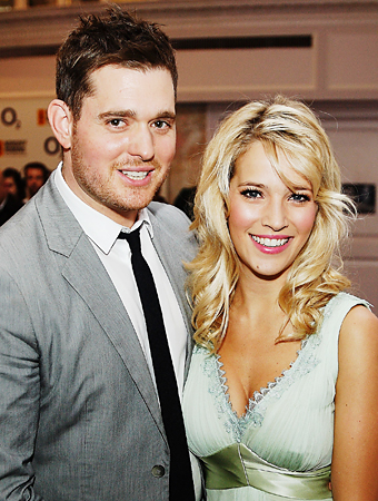 Michael Buble Expecting