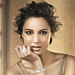 Skyfall's Bond Girl Bérénice Marlohe Models for Swarovski